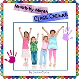Month-by-Month Class Cheers