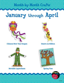 Month-by-Month Crafts: January through April