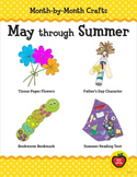 Month-by-Month Crafts: May through Summer