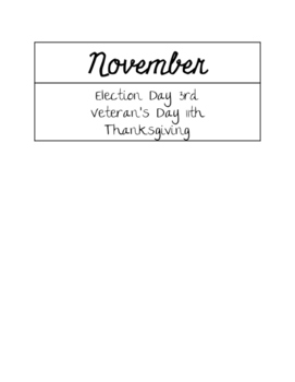 Month by Month Holiday Organization