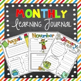 Month by Month Learning Journal