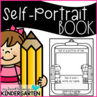 Self Portrait and Name Writing Books  (First Week of School)