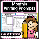 Monthly Writing Prompts for the Year