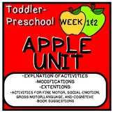 Two Week Long Learning Through Play Thematic Apple Unit:Ag