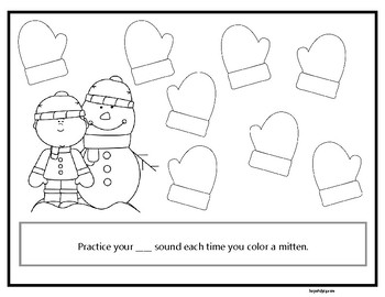 Month of Articulation February: 28 Open-Ended Coloring Worksheets for Artic