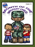 Month of the Military Child WEBQUEST and Activity Book