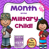 Month of the Military Child - Purple Up!