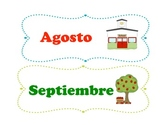 Month of the year in Spanish