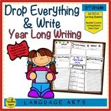 Third Grade Year Long D.E.W. (Drop Everything & Write), Rubrics & Data Charts