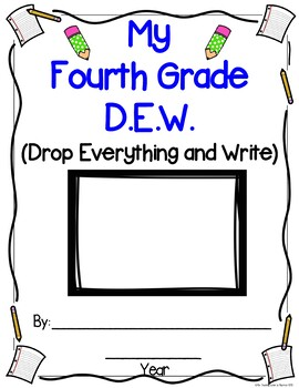 Monthly 4th, 5th, & 6th Grade D.E.W. & More