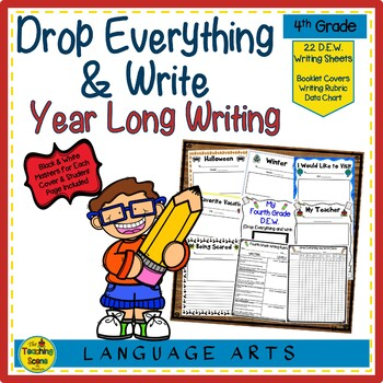 Writing Monthly:  D.E.W. & More Grades 4-6