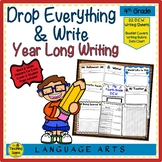 Fourth Grade Year Long D.E.W. (Drop Everything & Write), Rubrics & Data Charts