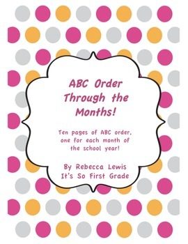 Monthly ABC Order