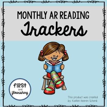 Monthly AR Reading Tracker (Seasonal)