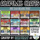 Monthly Academic Crafts *BUNDLE*
