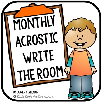 Write the Room Monthly Acrostic