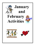 Monthly Activities, January and February