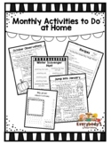 Monthly Activities to Do at Home for Preschool Families