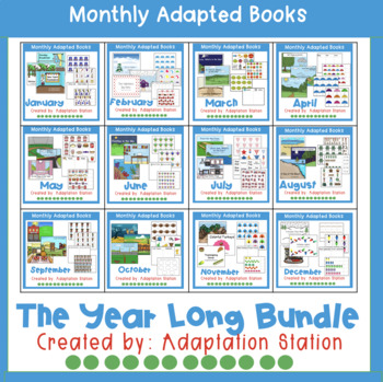 Monthly Adapted Books for Special Education