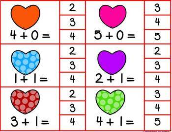 Addition & Subtraction Facts 0-10 Monthly & Holiday Clip Math Games