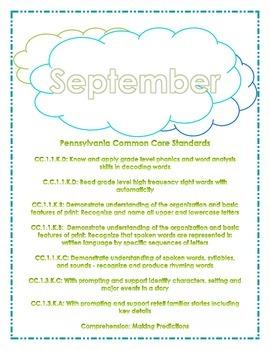 Monthly Assessment Pack - September