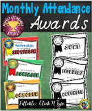 Monthly Attendance Awards