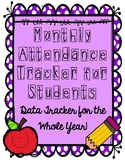 Monthly Attendance Data Tracker