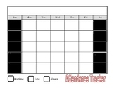 Monthly Attendance Tracker