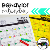 Monthly Behavior Calendar | EDITABLE