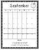 Monthly Behavior Calendars 2016-2017 School Year