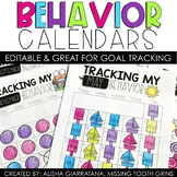 Behavior And Attendance Calendars