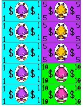 Monthly Behavior Calendars: Monster Theme (Class Dojo)
