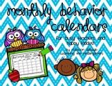 Monthly Behavior Calendars with Key-Code