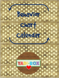 2019 - 2020 - Monthly Behavior Chart