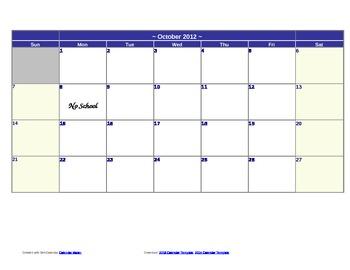 Monthly Behavior Chart- FREEBIE