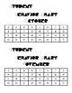 Monthly Behavior Chart-Pac Man (Student)