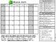 Monthly Behavior Chart School-to-Home Calendars