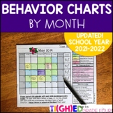 Monthly Behavior Chart School-to-Home Calendars & Behavior Clip Chart