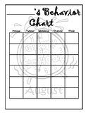Monthly Behavior Charts