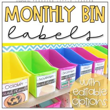 Monthly Bin Labels