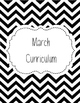 Monthly Binder Covers {Black and White Chevron}
