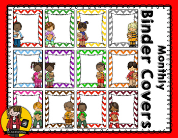 Monthly Binder Covers | Color