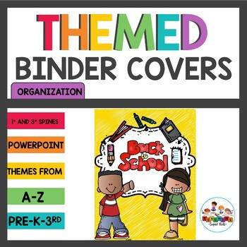 Themed Binder Covers
