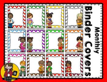 Monthly Binder Covers & Writing Sheets {Mega Bundle}