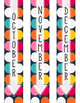 Monthly Binder Covers and Labels - Dots