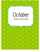 Monthly Binder Covers for Classroom Organization