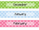 Monthly Binder Covers w/ Spine Labels