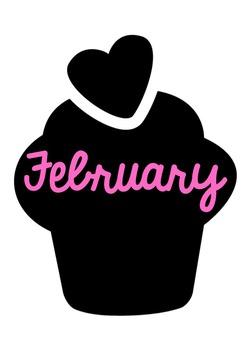 Monthly Birthday Cupcakes
