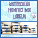 Monthly Box Labels