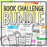 Monthly Book Challenge Bundle for Middle and High School I